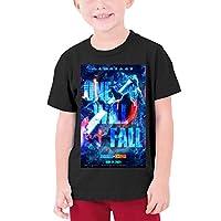 Dominic Art Godzilla vs Kong ゴジラVSコング 男の子 Tシャツ 女の子 半袖 キッズ Tシャツ カットソー M