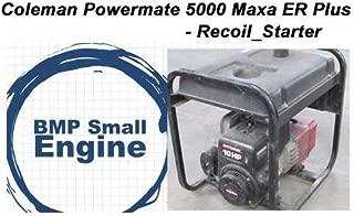 BMotorParts Recoil Pull Starter for Coleman Powermate Maxa 5000 ER Plus Generator Tecumseh