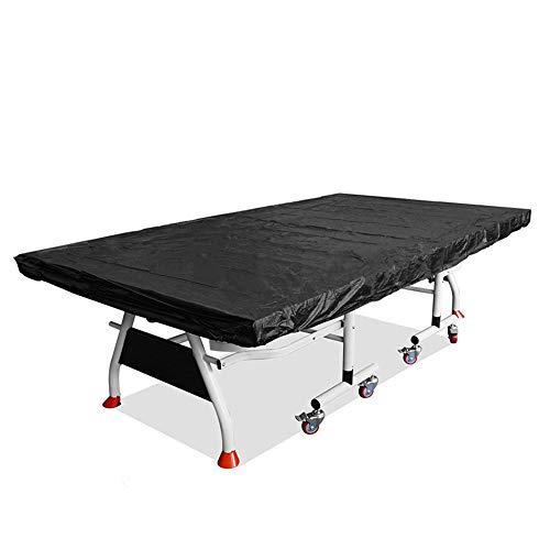 MOOUK Funda Protectora para Mesa de Ping Pong, Impermeable, Transpirable, de poliéster Oxford, Resistente al Agua y a los Rayos UV, 280 x 150 cm, Resistente al Polvo