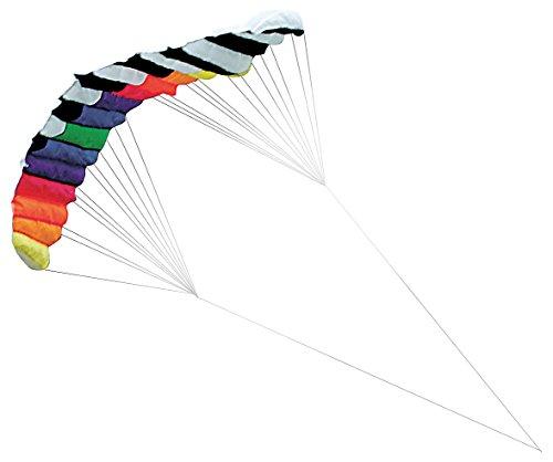 infactory Drachen: XXL-Lenkdrachen Speed mit 2 Meter Spannweite & 30 Meter Schnur (Flug-Drachen)