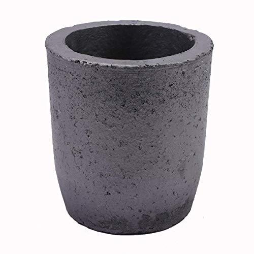 TCATEC 坩堝 1500ML 炭化珪黒鉛坩堝 るつぼ 鋳造インゴット 金型 180MM高さ 溶融金属 金 銀 銅など (SIZE 12)