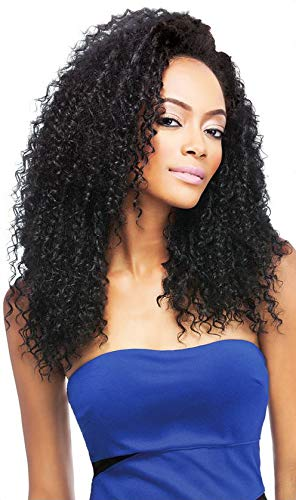 Outre Quick Weave Synthetic Half Wig - Bohemian Long-1B