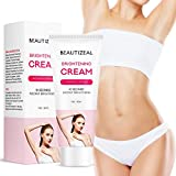 Brightening Cream, Underarm Lightening Cream, One for All Brightens and Moisturizes Armpit, Neck, Back, Legs, Elbows and more, effective Brightens & Nourishes Repairs Body Skins Remove (60ml)