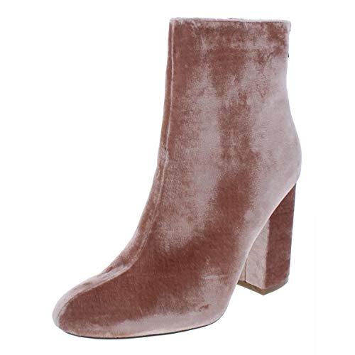 Ivanka Trump   Teloran Block Heel Booties   Light Natural Fabric   6.5