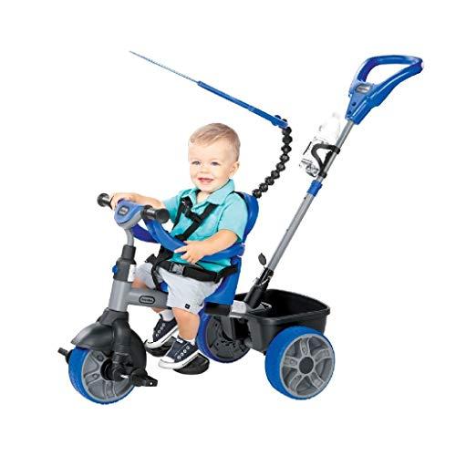 Little Tikes - 634314E4 - Tricycle - Evolutif 4 En 1 - Navy Blue