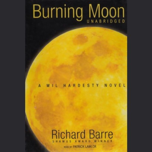 Burning Moon  audiobook cover art