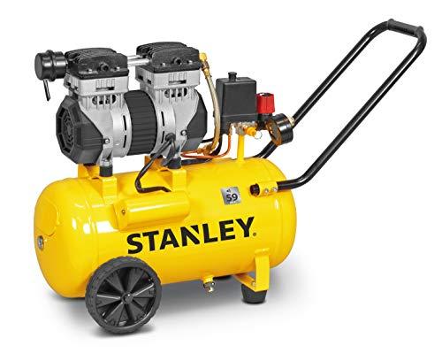 Stanley leiser Kompressor ohne Öl (59 dB), 50 l