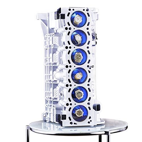 INDULOU Uhrenbeweger M54 Motorblock für 6 Uhren. Luxus Made in Germany.