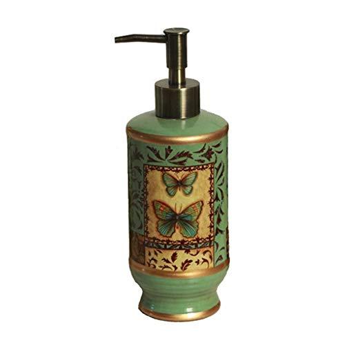 Diseño Modernos Country Style jabón dispensador de jabón líquido de cerámica / loción dispensador de la bomba for el baño mostradores o lavabo de porcelana accesorios de baño regalo del día de Acción