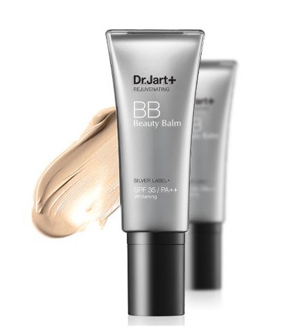 KOREAN COSMETICS, Dr.jart +, Silver Label + BB 40ml (BB Cream, high coverage, whitening, UV protection SPF35/PA + +) [001KR] by Dr. Jart