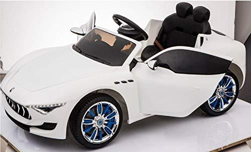 MINICARS Maserati Alfieri 126 cm Blanc MP4 Voiture électrique pour Enfants