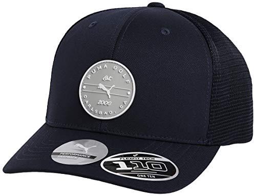 PUMA Golf 2020 Men's Trucker Patch Hat (Men's, Peacoat,One Size)