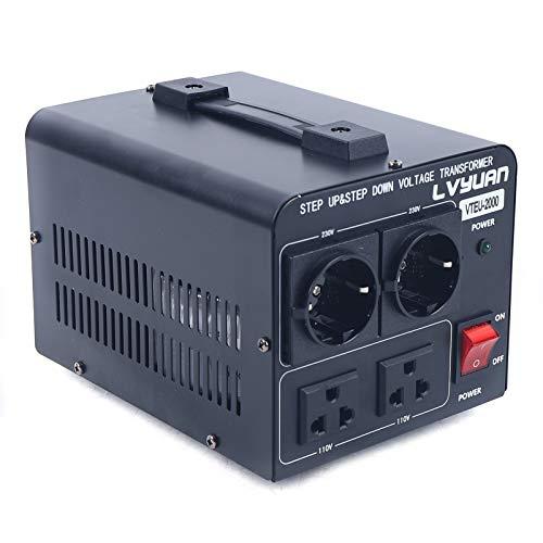 2000W Spannungswandler Transformator USA Converter 110V auf 230v / 230v auf 110v Konverter Wechselrichter Geräte