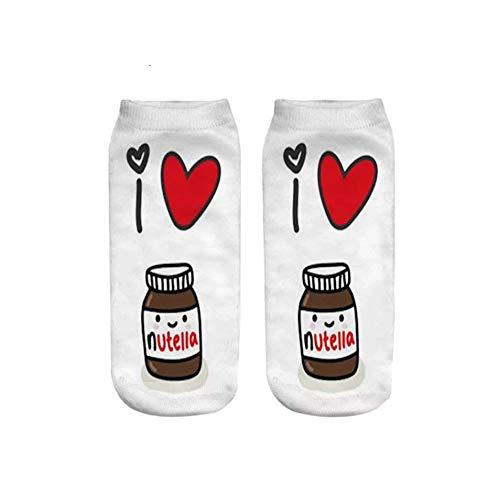 Socken I Nutella Perfekte Socken für alle, die Nutella lieben!