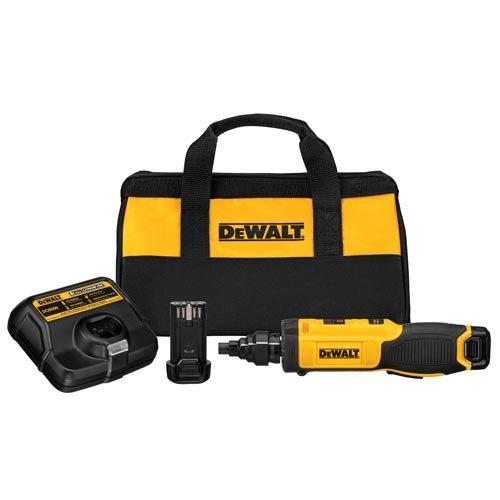 DEWALT 8V MAX Cordless Screwdriver with Conduit Reamer, Gyroscopic (DCF681N2)
