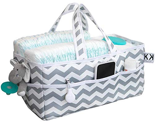 Kiddy Kaddy Diaper Caddy and Nursery Storage Organizer. Holds More Diapers Than Similar Products. Must-Have Baby Care Item for Home and Car.