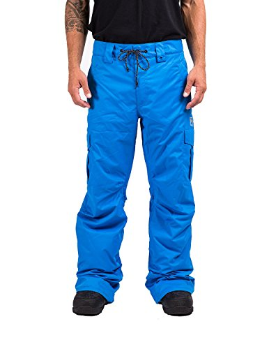 Nitro Snowboards Herren Snowboardhose Decline 16, Electric Blue, S