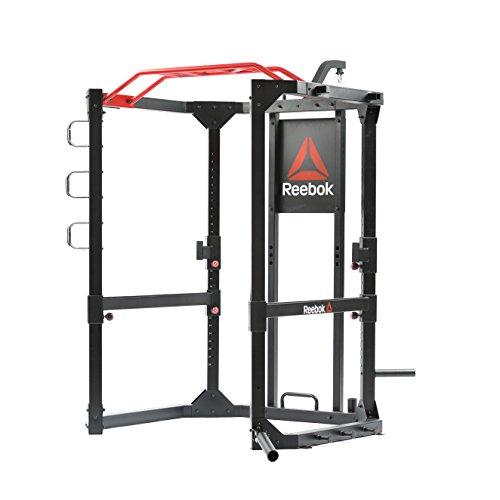 Reebok Functional Cage Station Multifonction Noir/Rouge Taille Unique