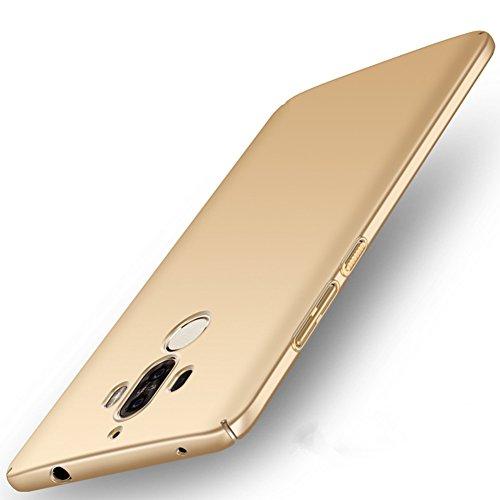 XMT Huawei Mate 9 5.9' Custodia,Ultra Sottile PC Back Case Protettiva Custodia per Huawei Mate 9 Smartphone (Oro)