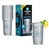 Ball Aluminum Cup   The Ultimate 100% Recyclable Cold-Drink Cup   20 oz. Cup, 10 Cups Per Pack