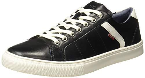 Levi's Men Indi Exclusive Regular Black Sneakers-9 UK (43 EU) (10 US) (38099-1635)