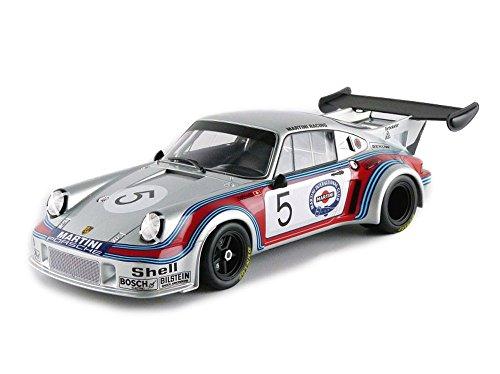 Norev – 187423 – Porsche 911 RSR Turbo 2.1 – Brand Hatch 197 schaal 1/18 – zilver/rood/blauw