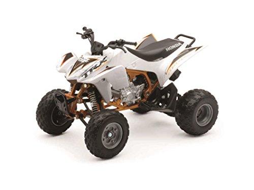 New Ray 42833 ATV JAPAN QUAD HONDA TRX-450R, SCALA 1:12,DIE CAST, BIANCO