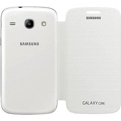 Samsung Flip - Funda para móvil Galaxy Core (Permite hablar con la tapa...