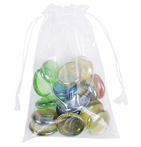 APQ Pack of 2000 Pull-Tite Drawstring Bags 4 x 6. Low Density Polyethylene Bags, 4x6. 2 mil. Clear Plastic Bags for Packing and Storing. Poly Bags for Industrial and Health Needs.