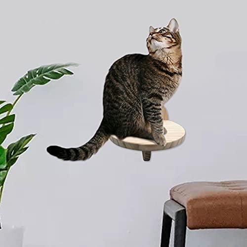 Katzentreppe Katzenstufe Katze Kletterstufe Wandliegebrett Kletterwand Für Wandkratzbäume Für Katzen Bis 10 Kg I Kletterstufen Für Die Wand Im Innenbereich 15x19x17cm