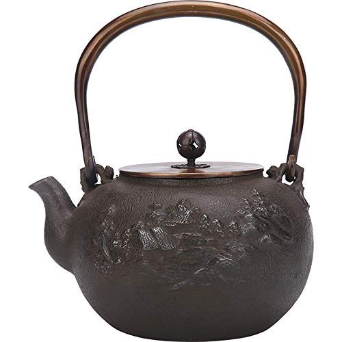 New ZYL-YL Cast Iron Cast Iron Uncoated Japan Imported Cast Iron Pot Kung Fu Tea Boiling Water Iron ...