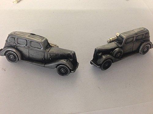 Armstrong Siddeley 14HP 3D Boutons de manchette Boutons de manchette voiture classique effet étain REF5