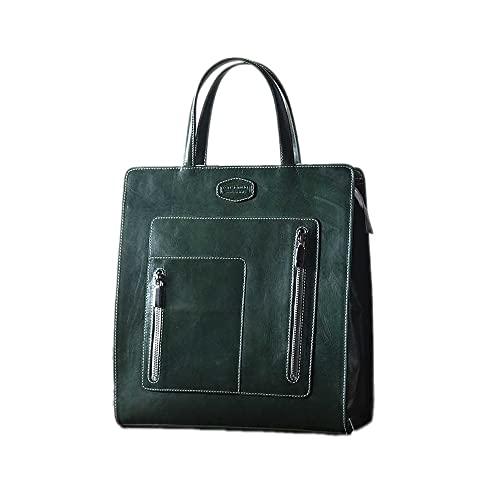 Constància Bags Bolsa de la compra de Frozen, hecha a mano en Italia, auténtica piel italiana.