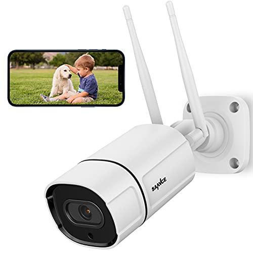 2K/3MP Wireless IP Camera, SANNCE Super HD Outdoor Wireless Security Camera...