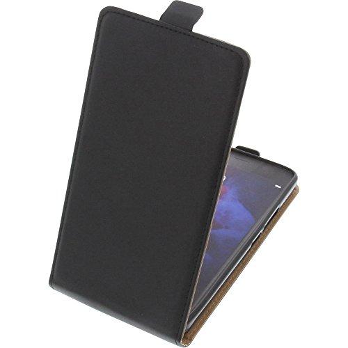 foto-kontor Tasche für Doogee BL7000 Smartphone Flipstyle Schutz Hülle schwarz