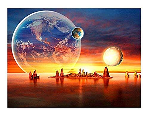 Djjinhao - 1000 Piezas Puzzle - Universo planetario