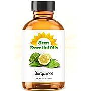 Bergamot Essential Oil (Huge 4oz Bottle) Bulk Bergamot Oil - 4 Ounce
