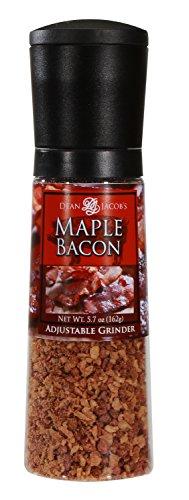 Dean Jacob's Maple Bacon Seasonings Chef Size Jumbo Grinder ~ 5.7 oz