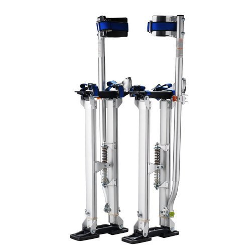 1120 Pentagon ToolTall Guyz Professional 24-40 Black Drywall Stilts For Sheetrock Painting or Cleaning