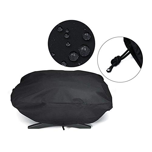 Kleine BBQ Grill Cover Outdoor Portable Gas BBQ Grill Cover Polyester Black 67 * 44 * 32cm
