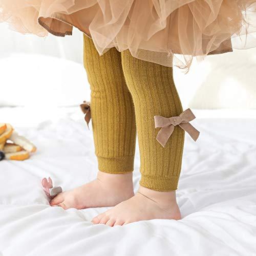 Janly Liquidación Venta Pantalones para niños de 0 a 6 años, Niños Bow Girls Medias Panty-hose Pantalones...