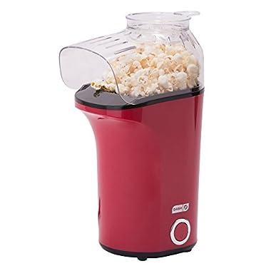 Dash DAPP150GBRD04 Popcorn Maker, Red