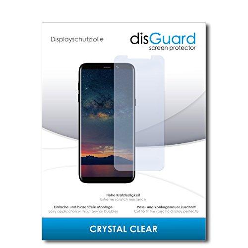 disGuard® Bildschirmschutzfolie [Crystal Clear] kompatibel mit Bluboo S8+ [4 Stück] Kristallklar, Transparent, Unsichtbar, Extrem Kratzfest, Anti-Fingerabdruck - Panzerglas Folie, Schutzfolie