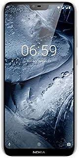 Nokia 6.1 Plus (White, 6GB RAM, 64GB Storage)