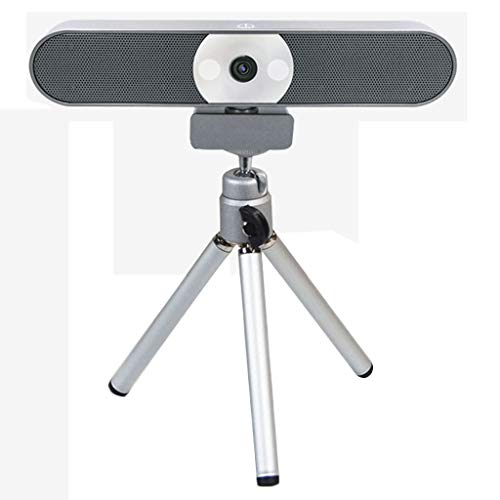 PC Webcam mit Mikrofon, Laptop Web Cam Full HD, 2.0 USB Kamera Plug & Play für Videoanruf, Konferenz, Live-Streaming, Online-Unterricht, Spiel,4k