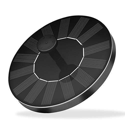 sympuk Fuente Solar De 7 V 14 W Bomba De Fuente De Agua Flotante Portátil con Energía Solar con 6 Boquillas para Baño De Pájaros Jardín Estanque Piscina Al Aire Libre No Requiere Electricidad fit