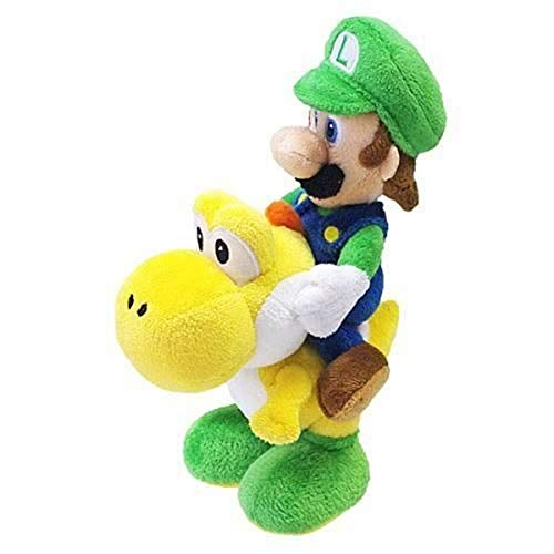 Nintendo Little Buddy 1255 Super Mario Series - Luigi Riding Yoshi...