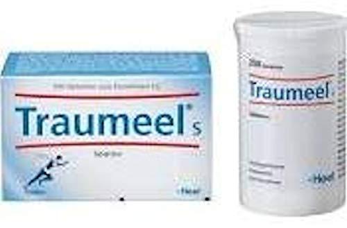 Traumeels Tablettem bei akuten Beschwerden des Bewegungsapparates wie Verstauchung oder Prellungen, chronische Erkrankungen oder frische Wunden sowie bei unreiner Haut, Spar-Set 2x50 Tabletten