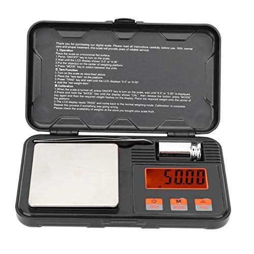 Accesorios de cocina para el hogar Mini básculas de bolsillo electrónicas de alta precisión portátiles para pesaje de joyas 200g/0,01g