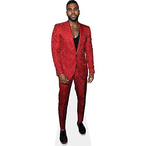 Celebrity Cutouts Jason Derulo (Red Suit) Pappaufsteller lebensgross